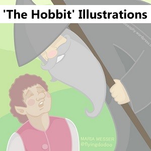 https://pencilphilosophy.wordpress.com/portfolio/the-hobbit-illustrations/