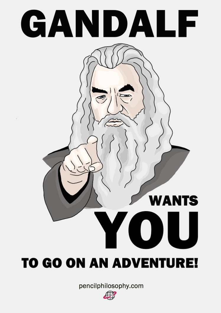 gandalf wants you-pencilphilos_klein