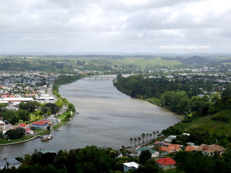 Whanganui River in New Zealand